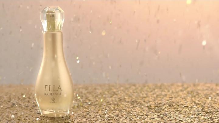 imagem do novo perfume ella radiance da hinode. Antigo Traduções Gold 24