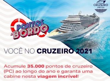 Promoção você no Cruzeiro 2021