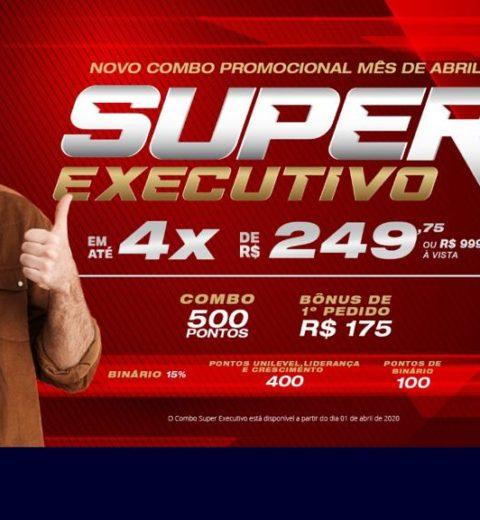 PROMOÇÃO SUPER COMO EXECUTIVO