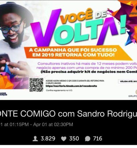 pROMOÇÃO VOCÊ DE VOLTA PRA CASA HINODE 2020
